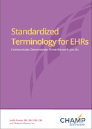 Evaluating Standardized Terminologies in EHR Cover